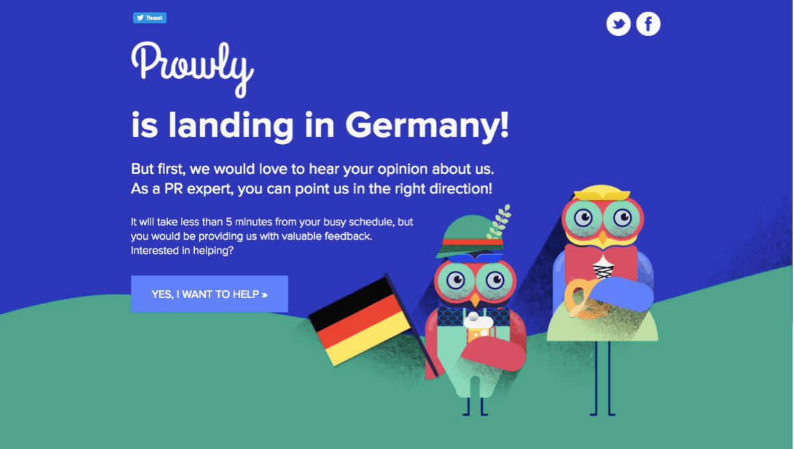 landingi case study prowly germany