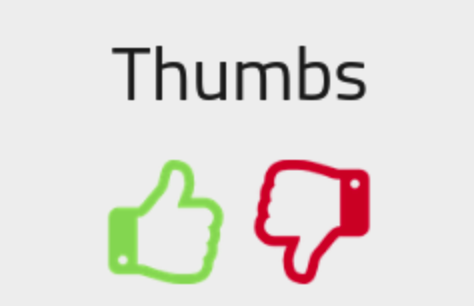 Thumbs Up or Down Review