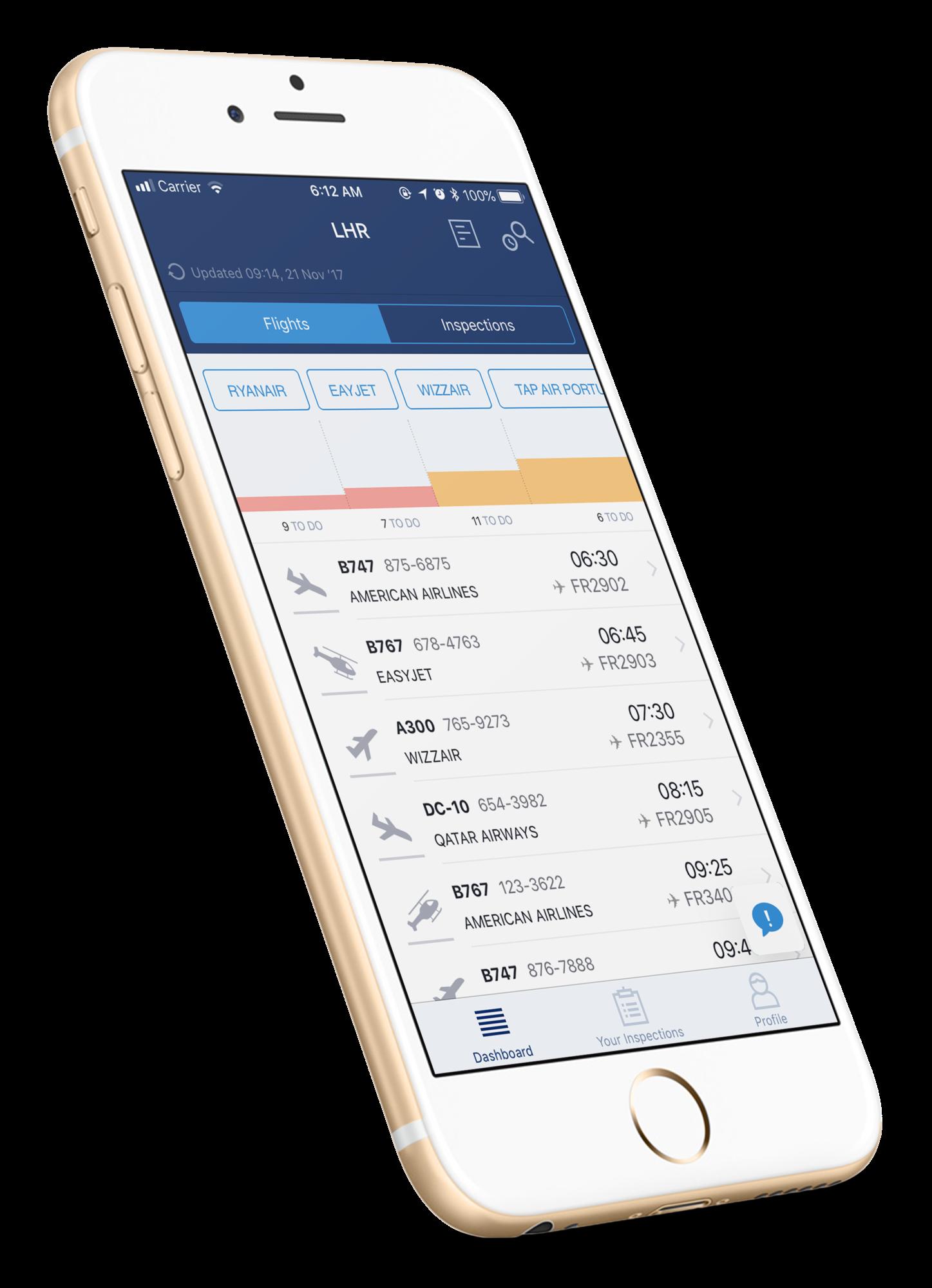 mobile inspection application development