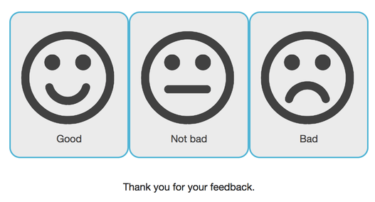 customer feedback collection