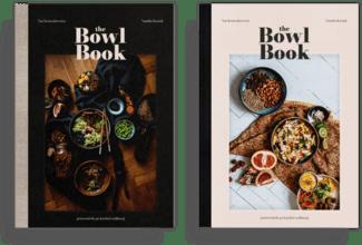 zestaw album plus plakat gratis The bowl book sprzedaż książki kucharskiej