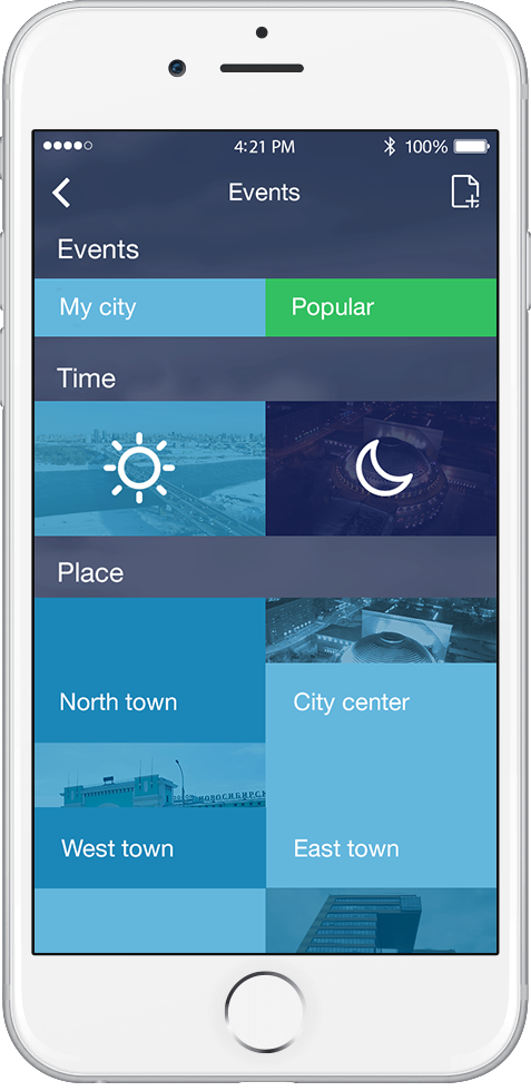 mobile app for City Day celebrate