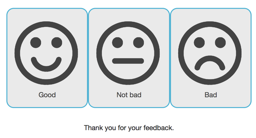customer feedback collection