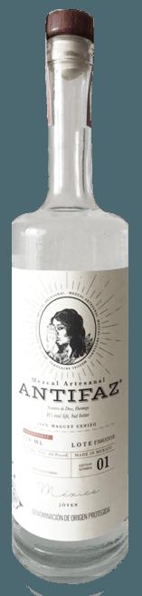 Botella Mezcal Artesanal de Agave Silvestre