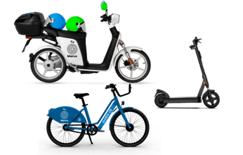 Cooltra motorbike, bicycle and scooter