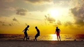Beach Football at Celes Beachfront Resort