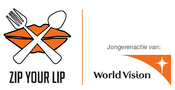 Logo World Vision / Zip your lip