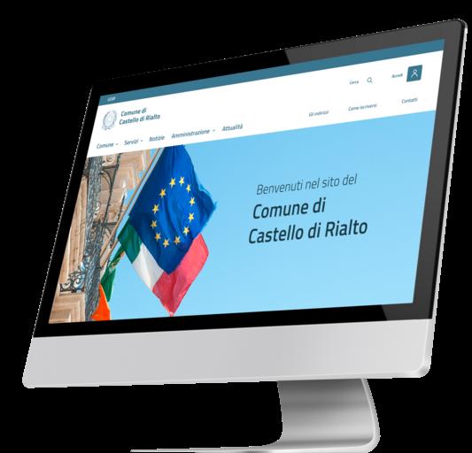 Un sito web per un Comune creato con la tecnologia di Pablico