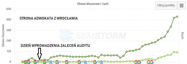 audyt strony internetowej prawnika Wrocław