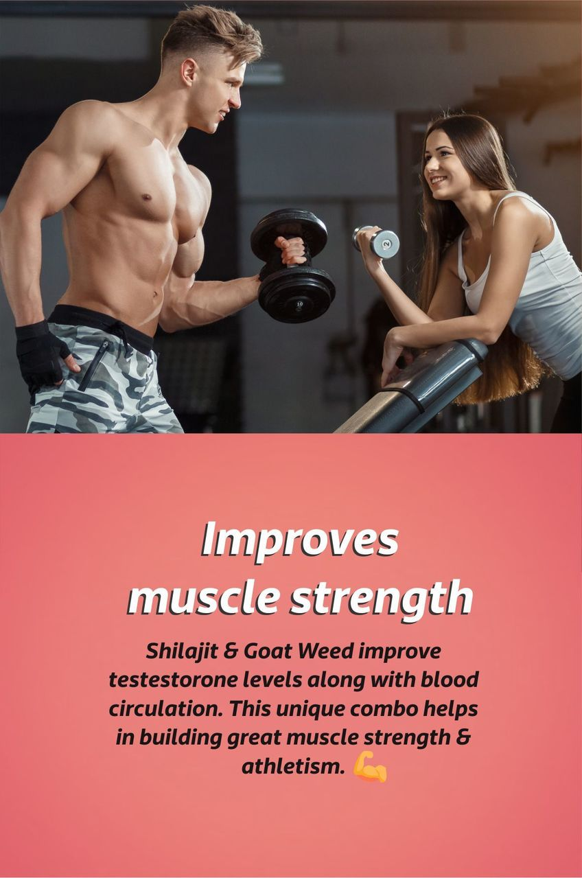 Improves muscle strength