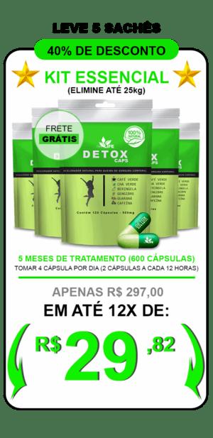 Kit Detox Caps 4