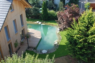 Gartenbauprojekt Naturteich