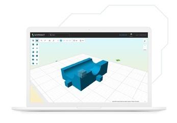 3D Playground przypominający grę Minecraft pozwoli Wam łatwo stworzyć własne modele 3D.