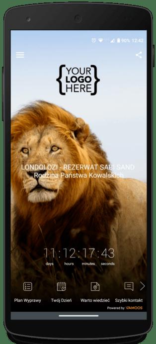 Funkcje Vamoos mobilna aplikacja dla biura podróży