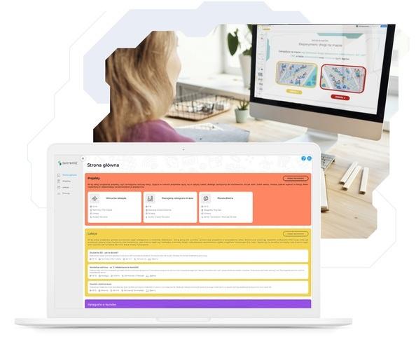 Platforma online dla nauczycieli zawierająca e-kursy i gotowe scenariusze zajęć.