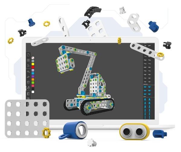 Modelujcie i drukujcie własne elementy konstrukcyjne z Creatorem!