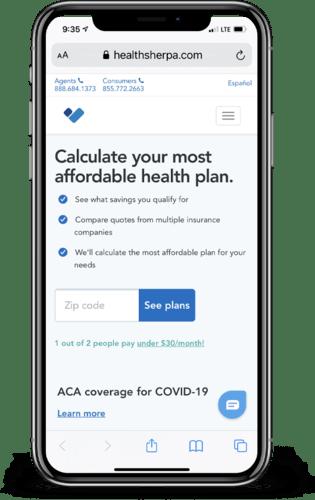 HealthSherpa ACA Enrollment Platform