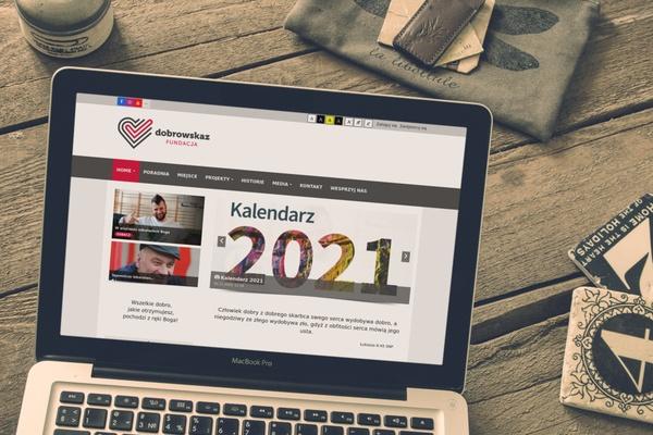 fundacja Dobrowskaz realizacja strony internetowej