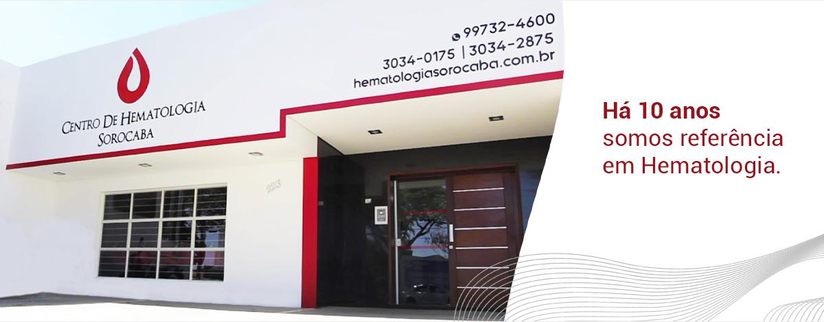 centro de hematologia sorocaba