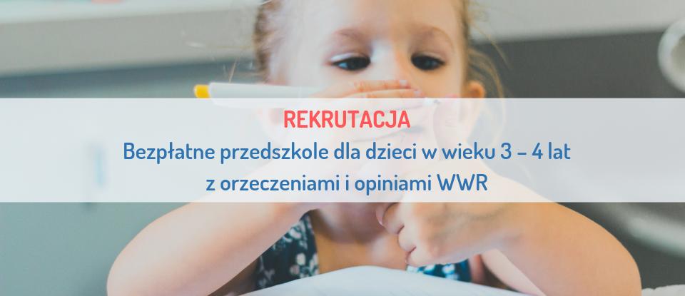 REKRUTACJA Przedszkole Siódme Niebo Szczecin