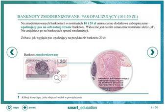 Zabezpieczenia banknotów polskich - szkolenie - nie można wyświetlić obrazu