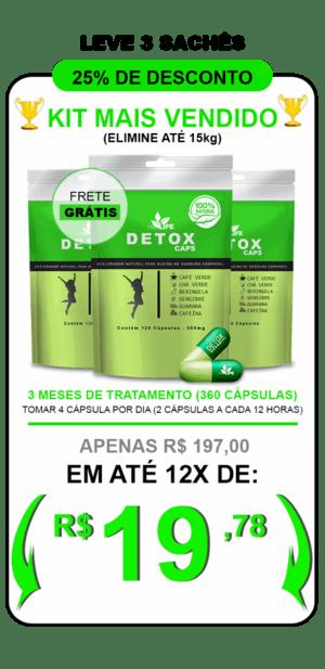 Kit Detox Caps 3