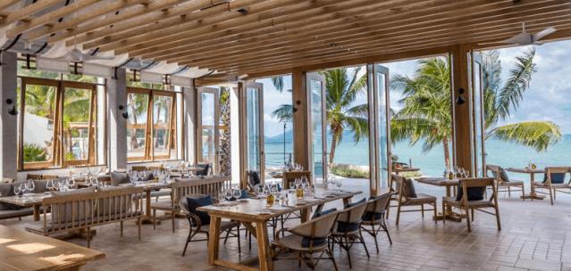 Sea Grill Restaurant at Celes Beachfront Resort