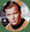 Picture of Captain Kirk from Star Trek