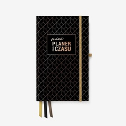 mini Planer pełen Czasu - Czarny