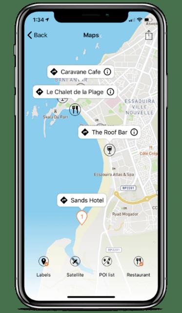 Aplikacja hotelu w telefonie