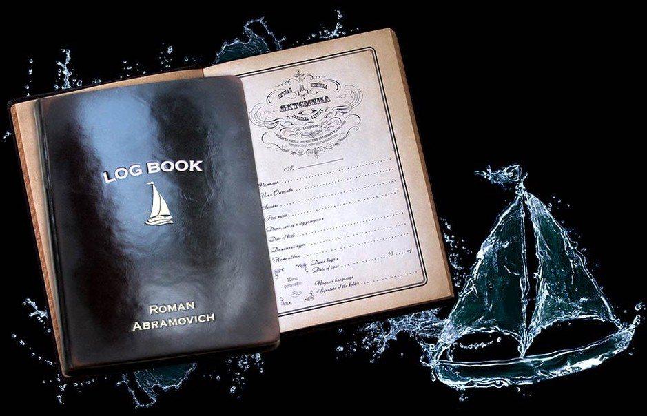 Изображение именного логбука logbook
