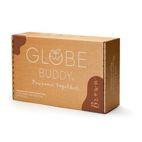 Sustainable Dog Food - Globe Buddy Brown