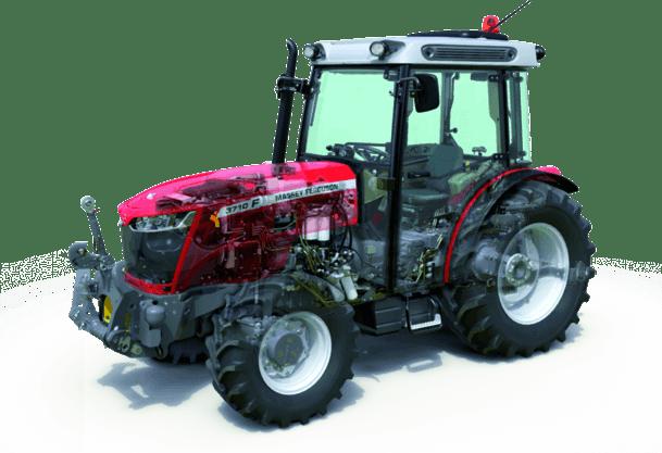 MF 3700 - ciągniki sadownicze