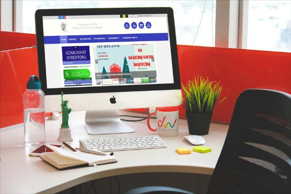 szkoła podstawowa w Siedliskach realizacja strona internetowa