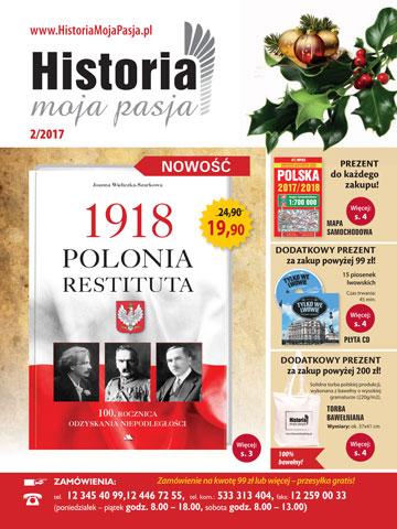 Historia. Moja Pasja. Nowy katalog wysyłkowy - okładka