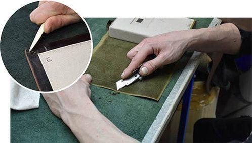 фото изготовления обложки логбука яхтсмена