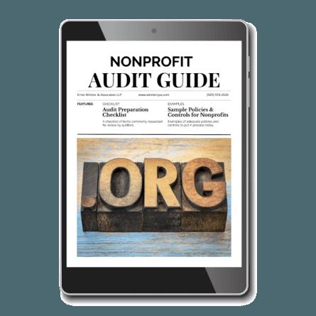 Nonprofit Audit Guide - Image - Ernst Wintter & Associates LLP