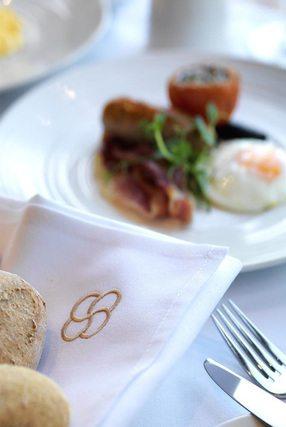 gehobenes Hotelfrühstück