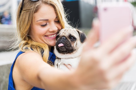 Teile Deine Begeisterung für Hund und Planet