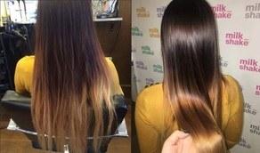 Efekt kuracji zdrowe włosy