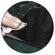 фото состаривания кожаной обложки логбука