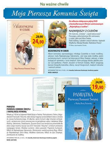 100. rocznica objawień w Fatimie - Katalog Klubu Książki Katolickiej