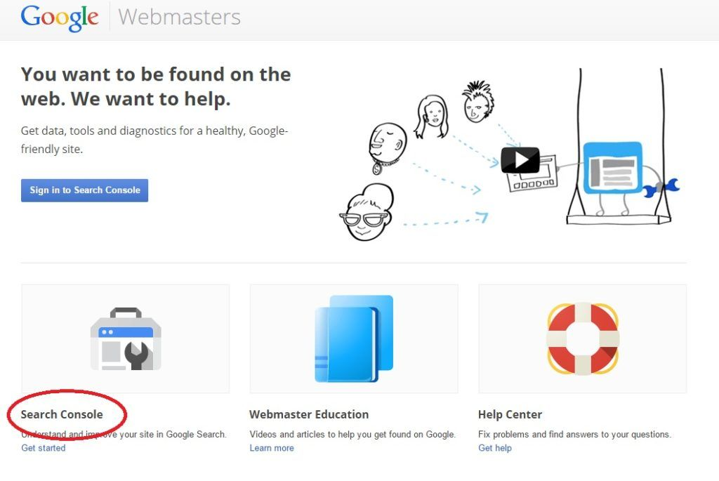 Google-Webmasters-Search-Console