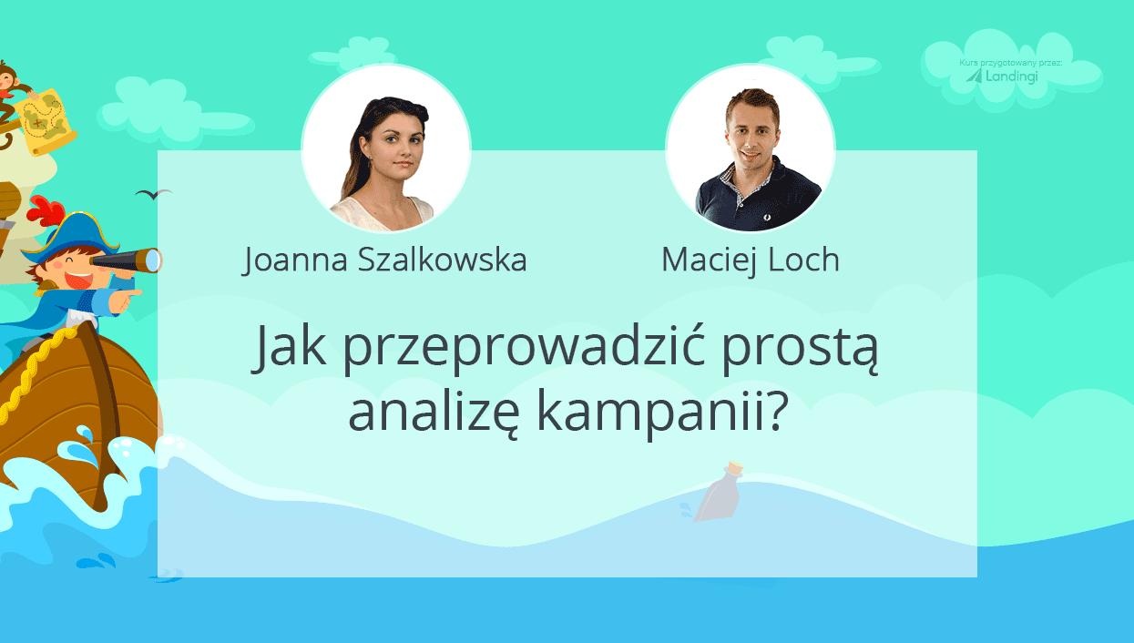 kurs dobrylanding Loch Szalkowska analiza kampanii