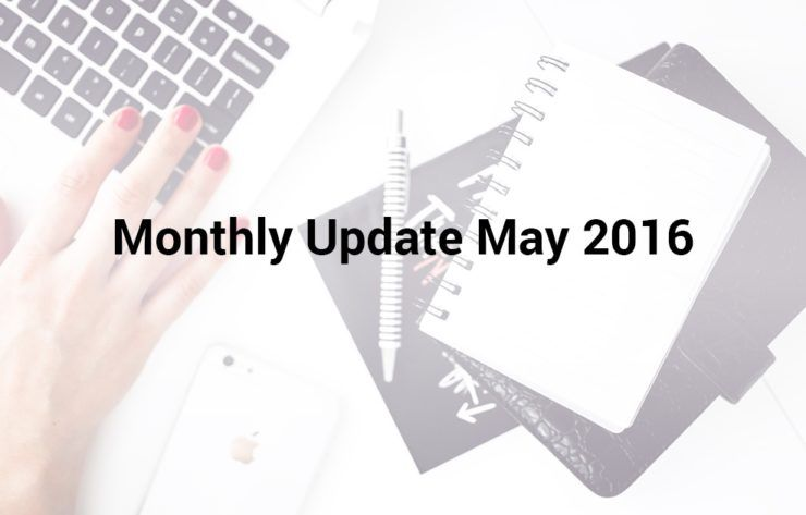 Monthly Update May 2016 Landingi