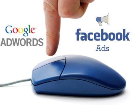 facebook ads google adwords
