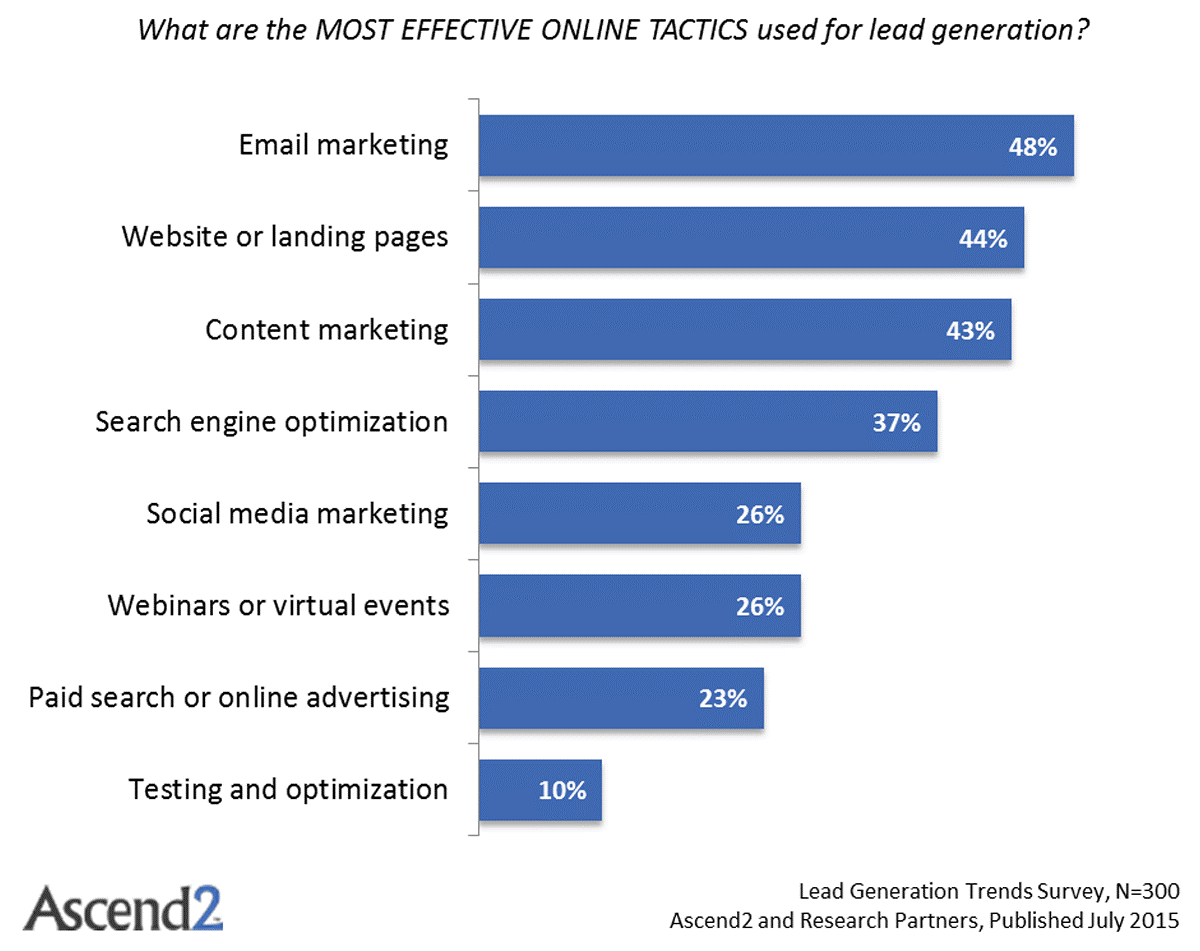 Turn your leads into customers lead generation online tactics