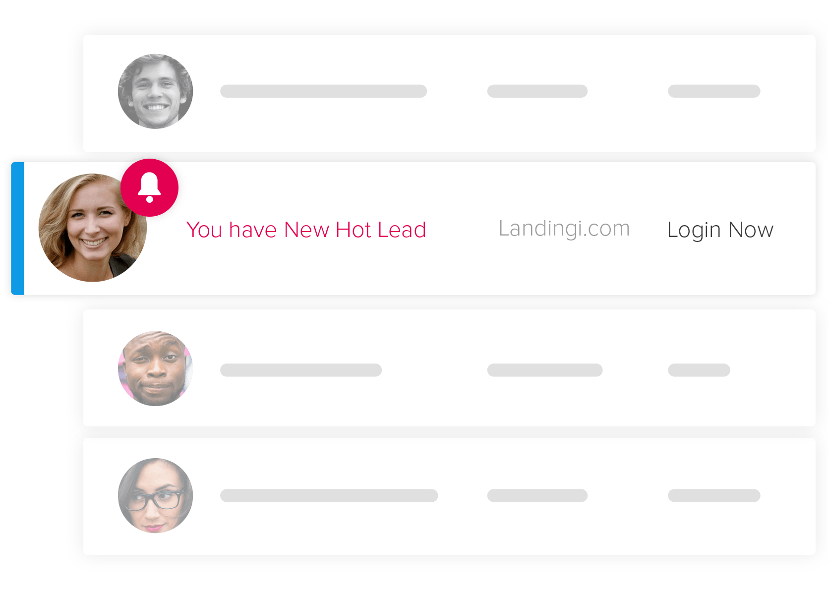 Automate your landing pag lead notyfications