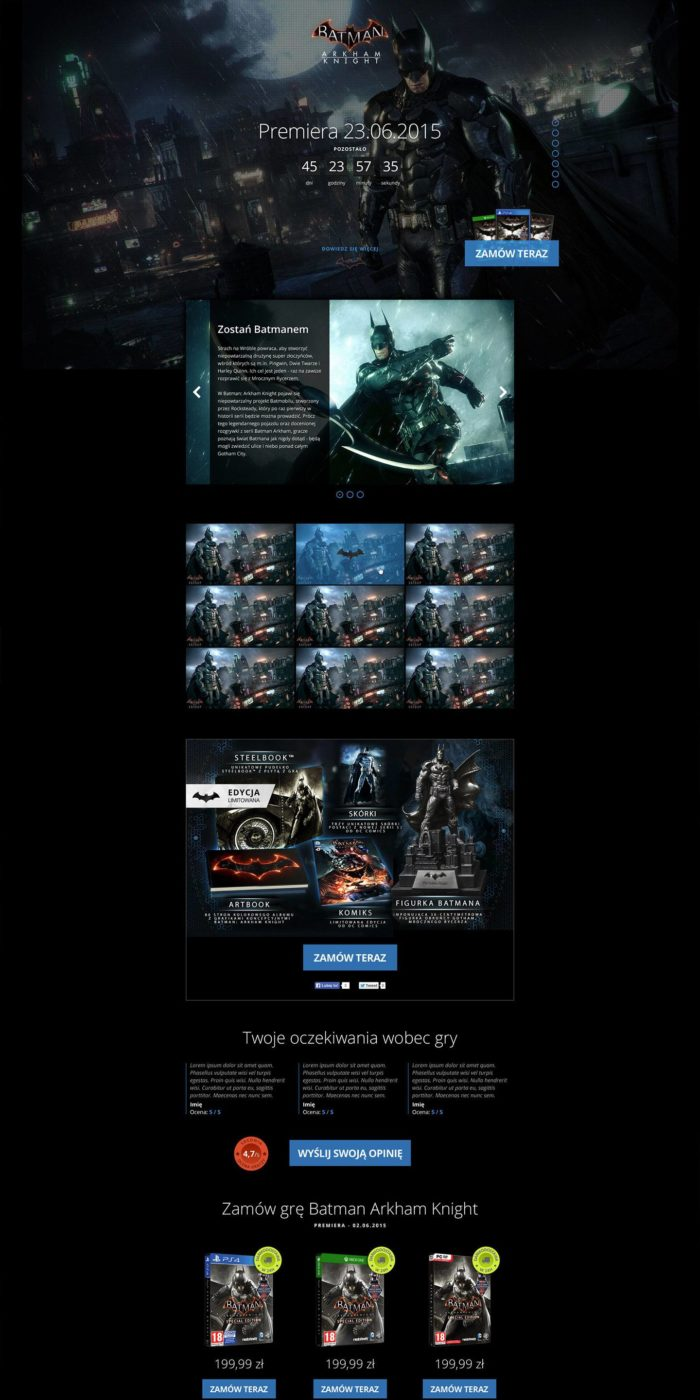 landing_page_portfolio_batman