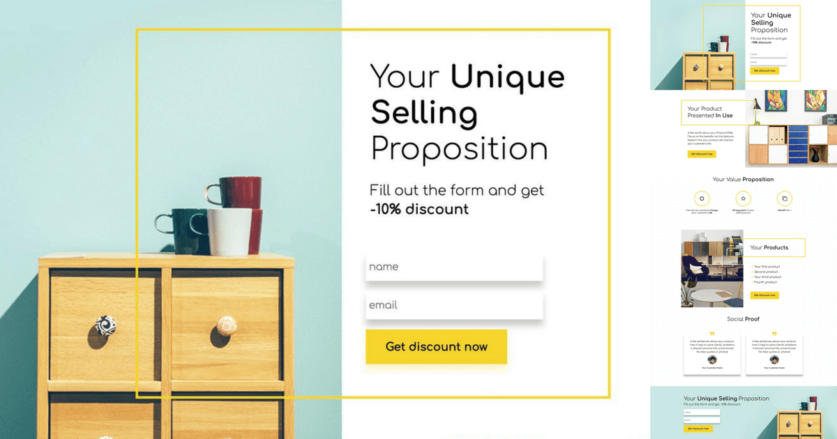 unique selling proposition ikea Value proposition is the #1 thing that determines whether people will bother reading more about your create a unique selling proposition for your landing.